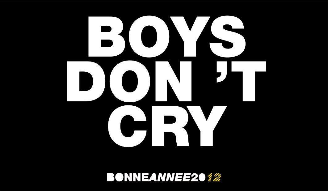 13 boy\'s don\'t cry